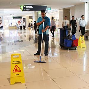 Servicii curatenie mall-uri